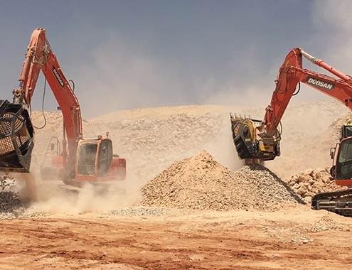 5 formas simples para eliminar escombros con MB Crusher