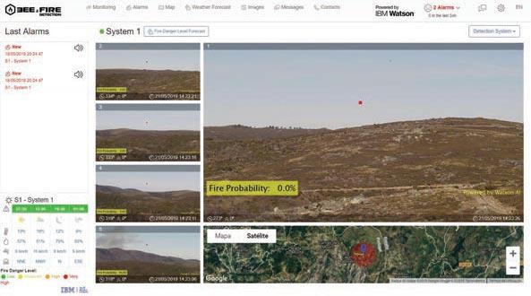 Lucha contra incendios, más eficaz gracias a la IA de IBM