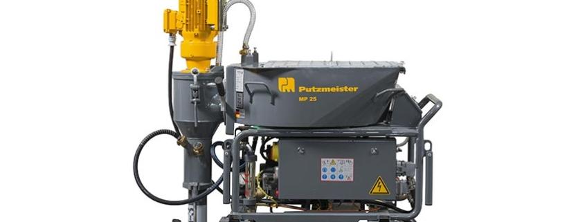 Nueva bomba mezcladora de mortero Putzmeister MP 25