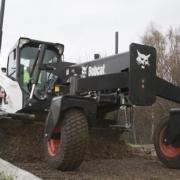 Niveladora Láser Bobcat: Ahorro de tiempo y de mano de obra