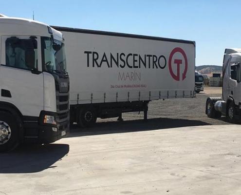 Transcentro Marín incorpora dos Scania R 410 de GNL a su flota
