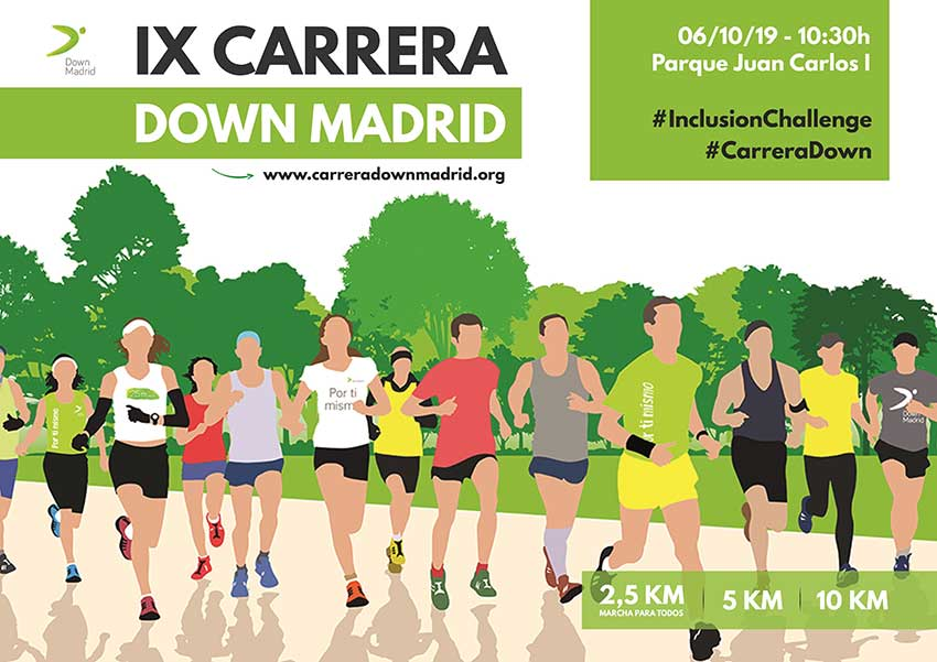 Carrera Solidaria de La Fundación Síndrome de Down Madrid