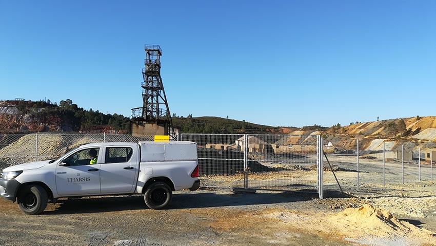 THARSIS avanza en en su plan de seguridad de sus proyectos mineros