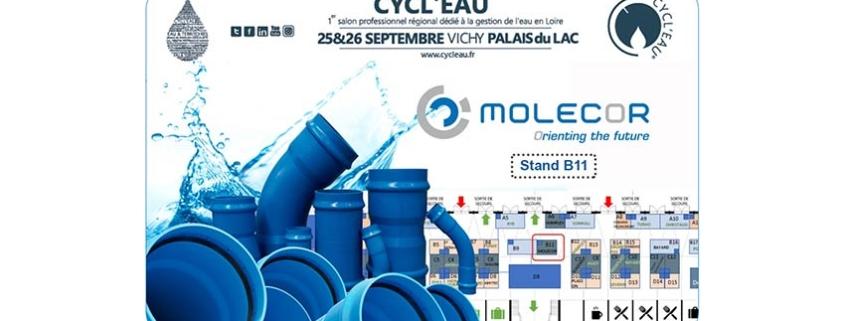 """Molecor estará presente en el Salón """"Cycl'eau Vichy 2019"""""""