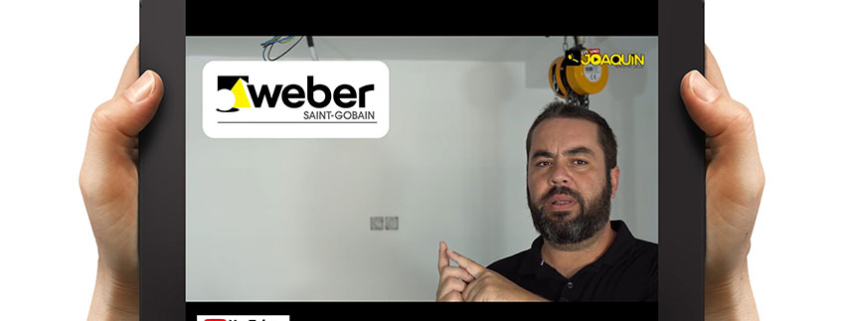 Weberfloor fluid, producto estrella en un vídeo de Efe Uno Joaquín