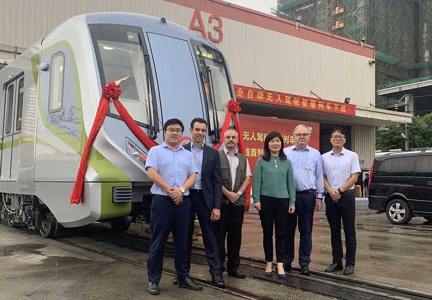 Bombardier finaliza primer vehículo sin conductor del Metro de Shanghái