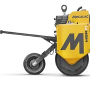 Mecalac rediseña por completo su rodillo de tambor simple MBR71
