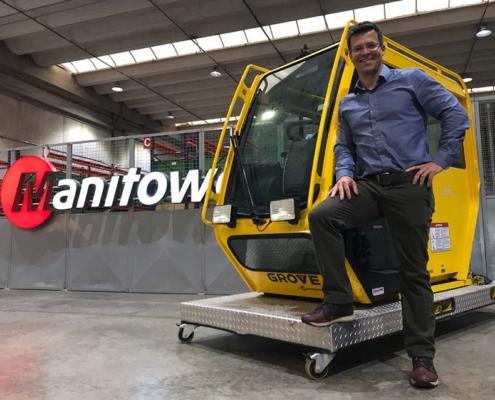Manitowoc Cranes nombra nuevo director de ventas para Brasil