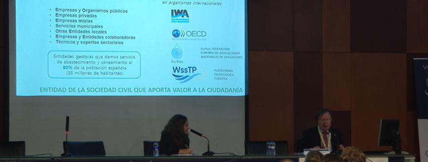 Intervención de AEAS en las VI Jornadas de Ingeniería del Agua
