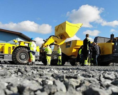 Éxito de los equipos mineros eléctricos de Epiroc