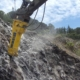 El martillo Epiroc HB 2500 en la extracción primaria de yeso en Portugal