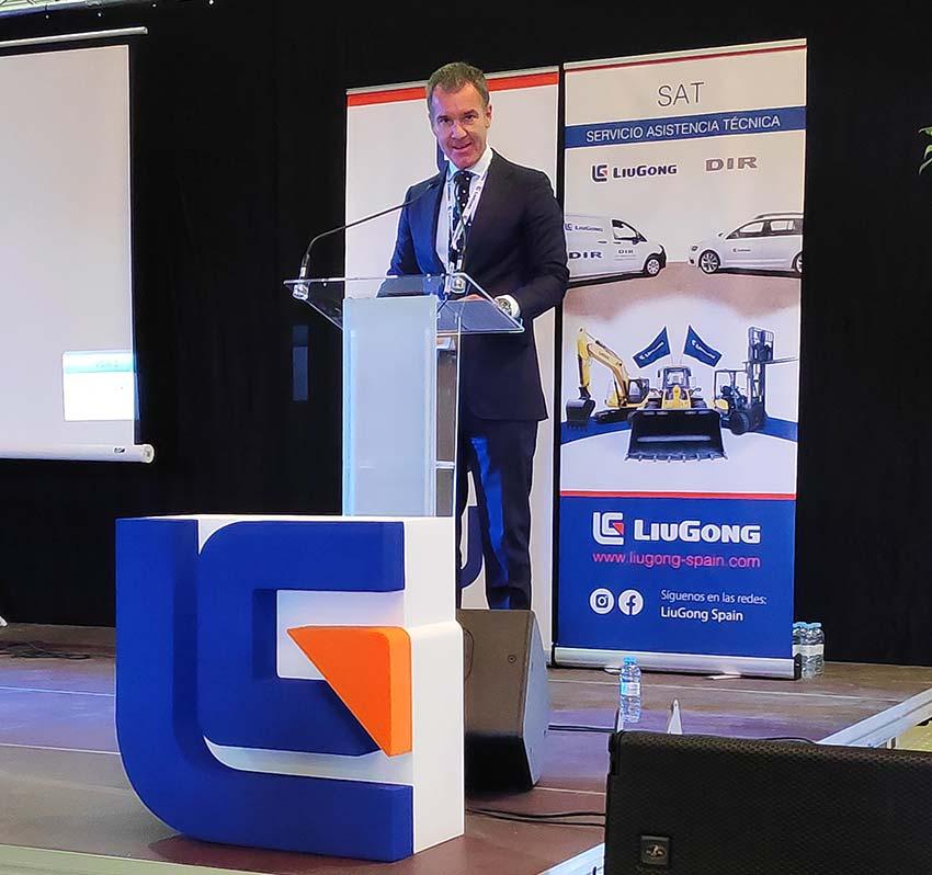 LiuGong avanza en España de la mano de DIR International Trading - David Iglesias