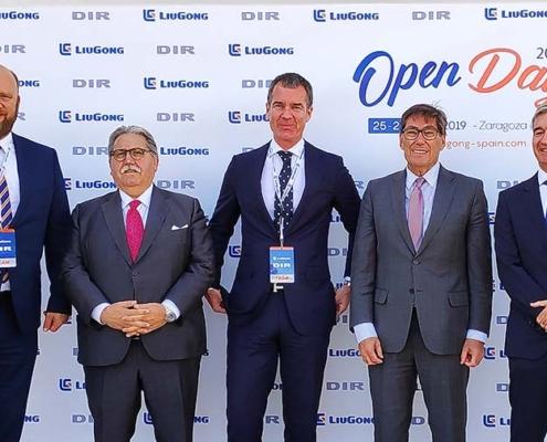 LiuGong avanza en España de la mano de DIR International Trading