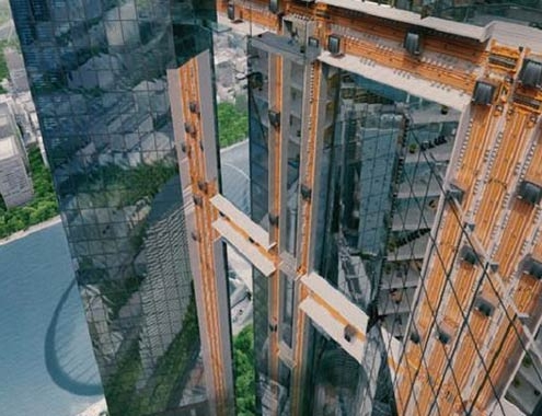 Thyssenkrupp exhibe el ascensor sin cables MULTI en la EXPO 2020