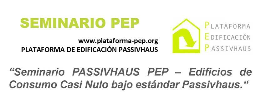 Seminario PASSIVHAUS PEP – Edificios de Consumo Casi Nulo en Jaén