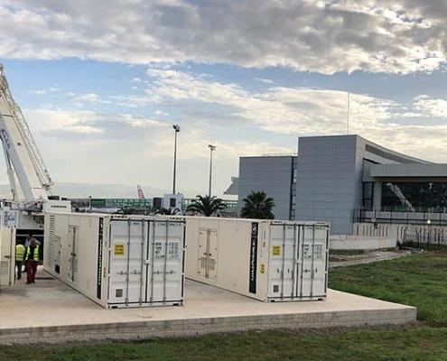 Suministro energía de emergencia al Aeropuerto Internacional de Argelia