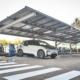 BMW Group España instala una pérgola fotovoltaica