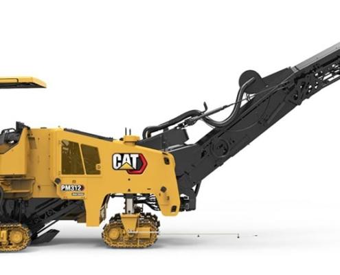 Caterpillar actualiza perfiladoras de pavimentos en frío seria PM300