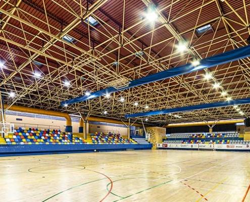 Renovación del alumbrado del Patronato Deportivo de Guadalajara