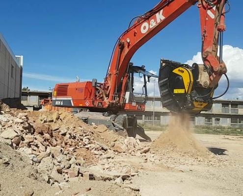 Demolición de un edificio: ¿solo y solamente residuos?