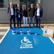 Mapei & Gamma colaboran por la accesibilidad de los discapacitados