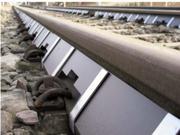 Protección acústica del alma del carril Calmmoon Rail - 2