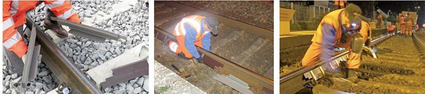 Protección acústica del alma del carril Calmmoon Rail - 5