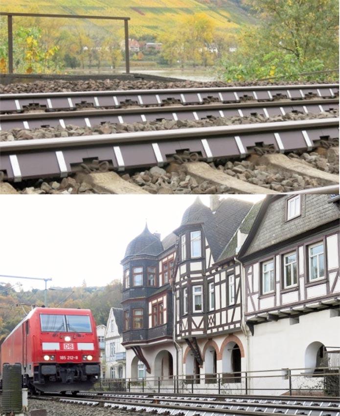 Protección acústica del alma del carril Calmmoon Rail - 6