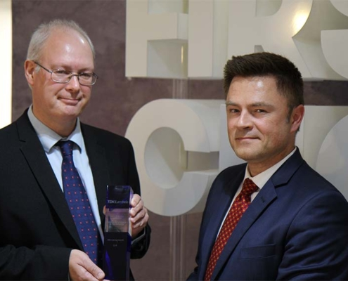 RS Components gana premio de distribución otorgado por TDK-Lambda