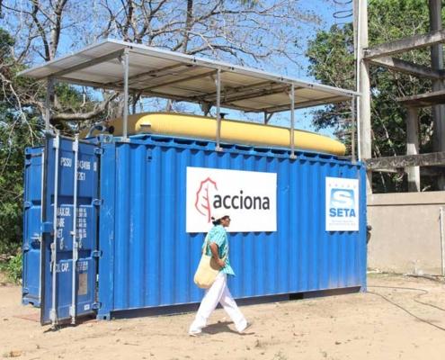 """ACCIONA, premiada por el proyecto """"Agua potable para los Wiwa"""""""