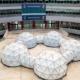 COP25 en IFEMA con gran instalación de Michael Pinsky Pollution pods