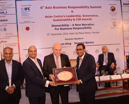 Arvind Poddar, de BKT, premiado como Mejor Líder Transformador