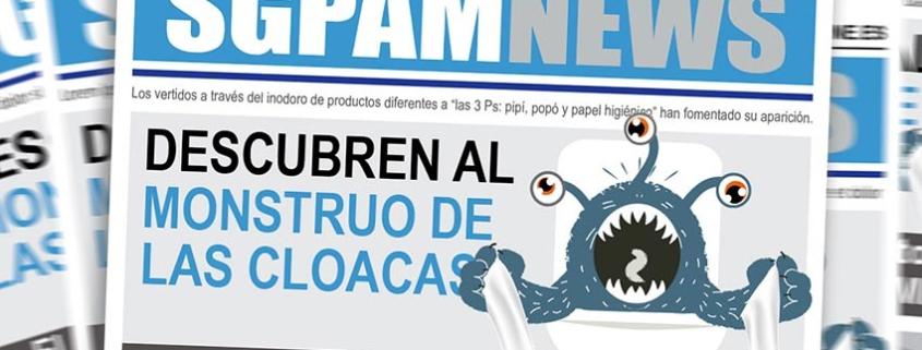 "Saint-Gobain PAM lucha contra ""el monstruo de las cloacas"""