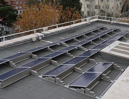 Embajada de Francia más sostenible con energía solar de POWEN