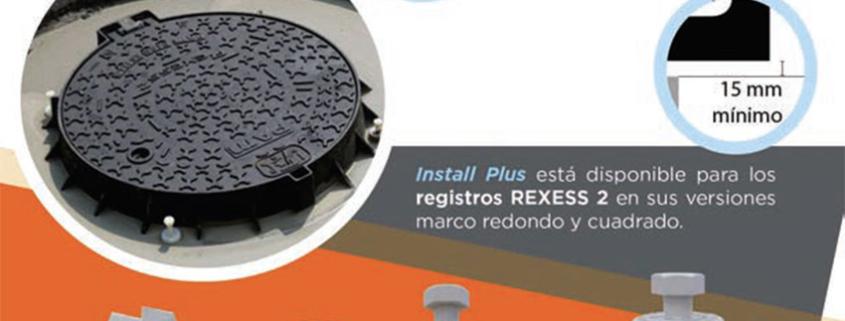 Nuevo sistema deinstalación de registros decalzada D400 Install Plus