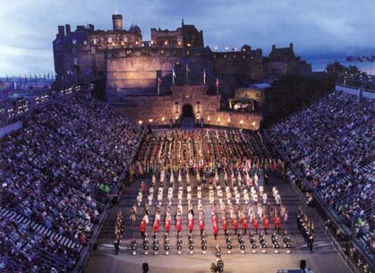 Royal Edinburgh Military Tattoo con la barra anticaídas Genie Lift Guard - 3
