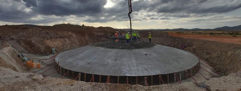 CEMEX en la construcción de los principales parques eólicos aragoneses