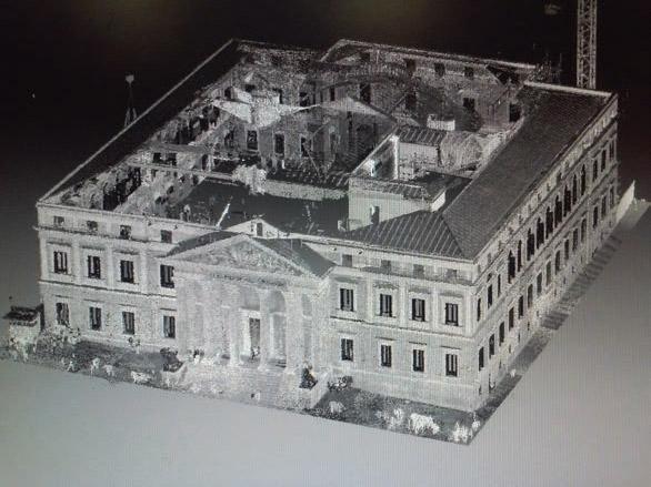 3D del Palacio del Congreso de los Diputados de Madrid - 2