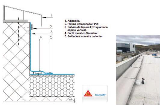 Impermeabilización de cubierta DECK en Mubea Iberia en Ágreda, Soria - 11