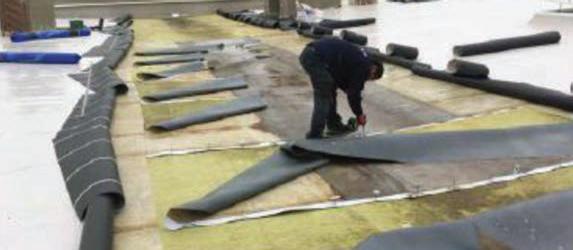 Impermeabilización de cubierta DECK en Mubea Iberia en Ágreda, Soria - 7