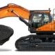 Nuevas excavadoras Doosan DX490LC-7 y DX530LC-7 de Fase V