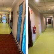 Gerflor Iberia dona pavimento sanitario para Hotel Vía Castellana