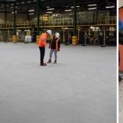 Lanzamiento Ucrete CS pavimento resistente de color estable