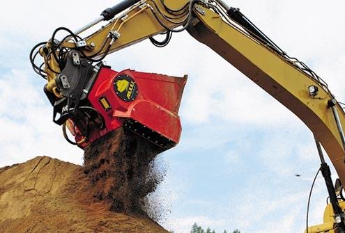 Nuevo equipo para demolición y cantera Allu Crusher en Conexpo