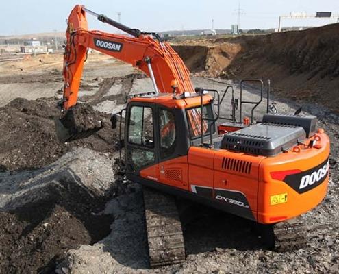 Excavadoras de orugas Doosan galardonadas en los LCO y HRV 2020