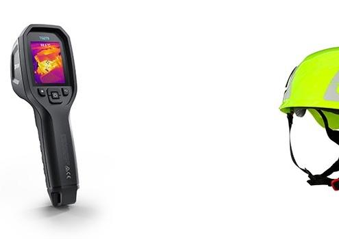Nueva cámara termográfica FLIR y dos series de cascos de seguridad 3M