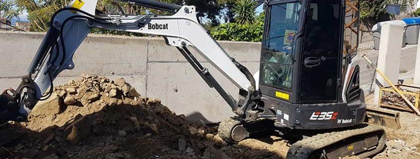 Miniexcavadora Bobcat E35z, más allá de las expectativas