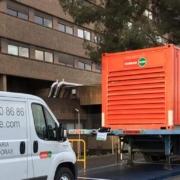 LoxamHune suministra grupos electrógenos a hospitales por el COVID-19