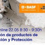 Webinar BASF Aplicación de productos de reparación y protección