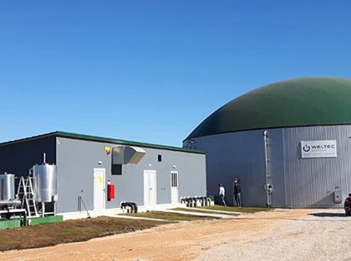 WELTEC BIOPOWER construye planta de biogás en Grecia